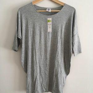 Grey dolman tunic